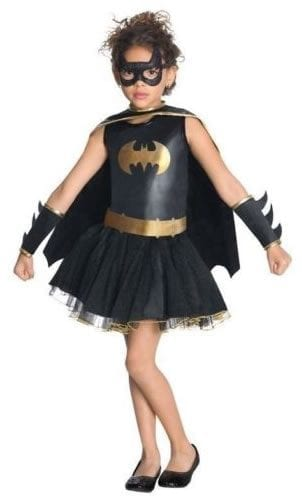 DC Super Hero Batgirl Children's Fancy Dress Costume