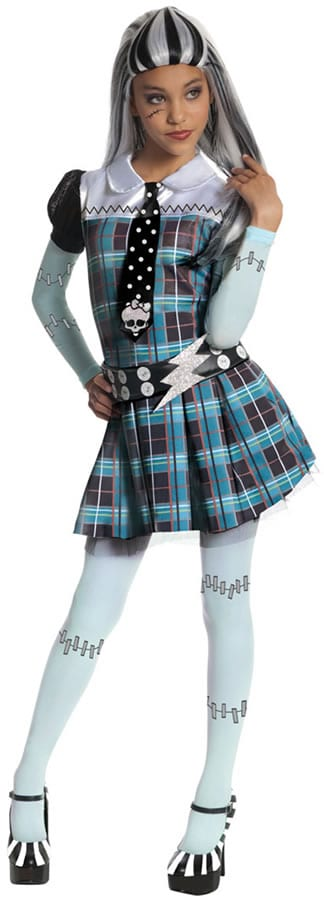 Monster High Frankie Stein Children's Fancy Dress Costume
