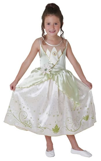 Disney Princess Royale Tiana Childrens Fancy Dress Costume (DISC