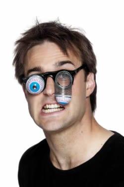 Droopy Eye Specs Black