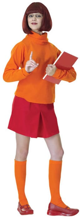Scooby Doo Velma Ladies Fancy Dress Costume