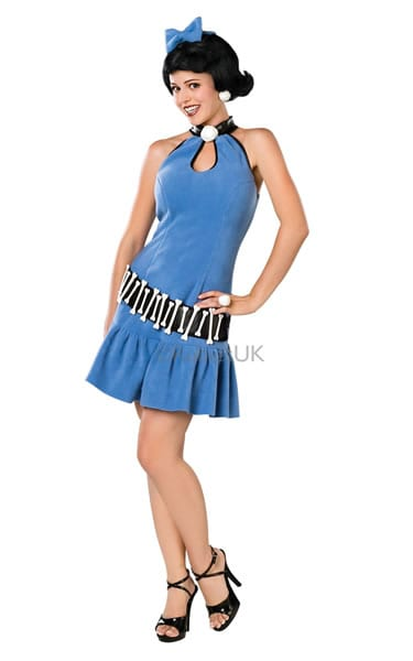 Flintstones Betty Rubble Ladies Fancy Dress Costume