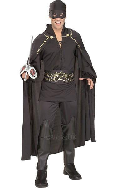 Zorro Men's Fancy Dress Costume
