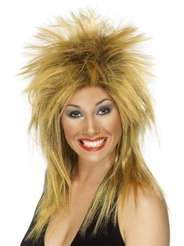 Rock Diva (Tina Turner) Wig Ginger/Black