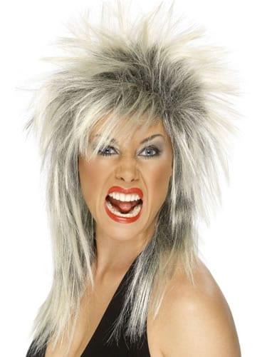 Rock Diva (Tina Turner) Wig Blonde/Black
