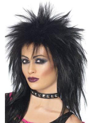 Rock Diva (Tina Turner) Wig Black
