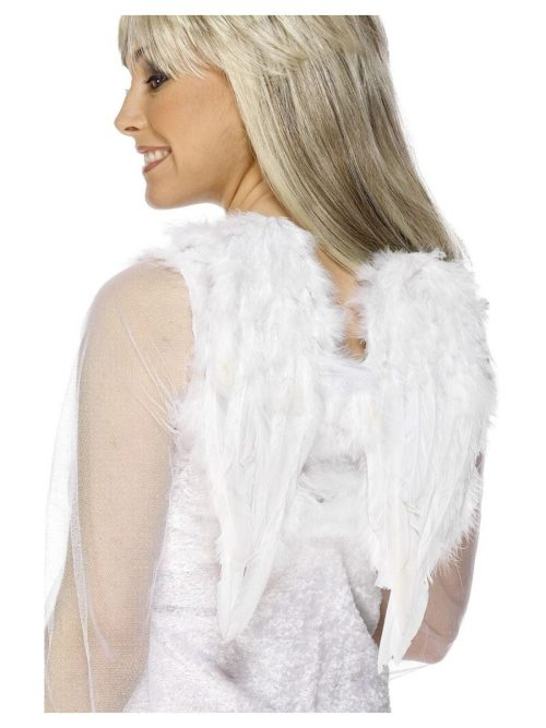 White Feather Angel Wings Small