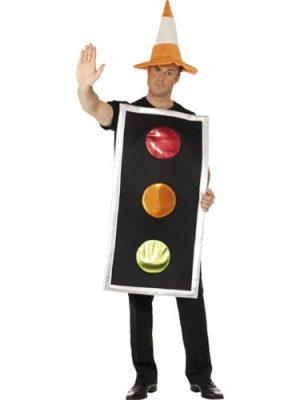 Traffic Light Novelty Fancy Dress Costume