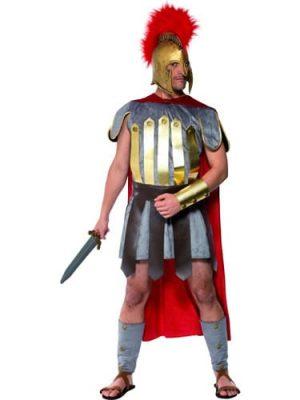 Roman Warrior Mens Fancy Dress Costume
