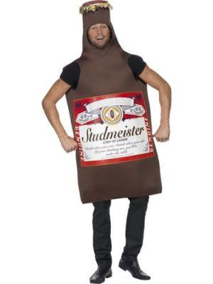 Studmeister Beer Bottle Novelty Fancy Dress Costume