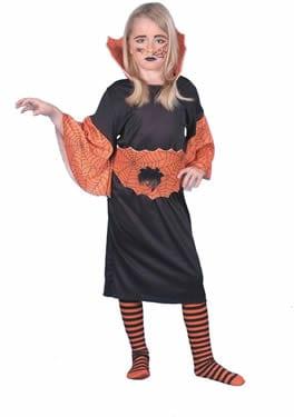 Spiderella Halloween Childrens Fancy Dress Costume (DISC)