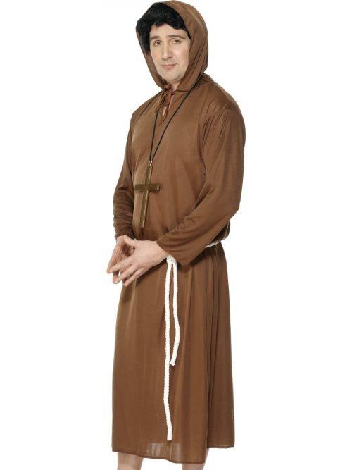 Monk Men's Fancy Dress Costume