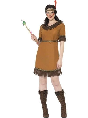 Indian Maiden Ladies Fancy Dress Costume