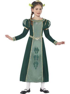 Shrek's Fiona Children's Fancy Dress Costume