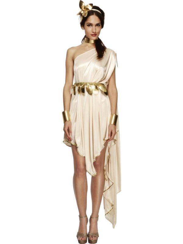 Fever Collection Goddess Ladies Fancy Dress Costume