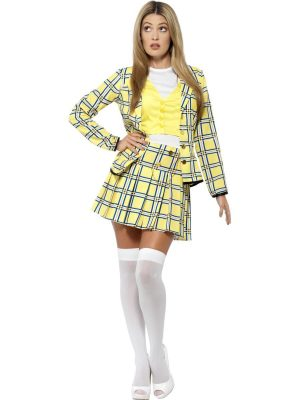 Clueless Cher Ladies Fancy Dress Costume