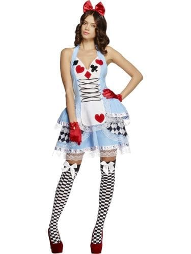 Fever Collection Miss Wonderland Ladies Fancy Dress Costume