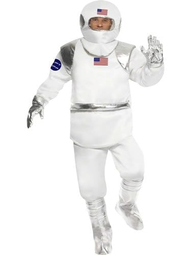 Astronaut Men's Fancy Dress Costume
