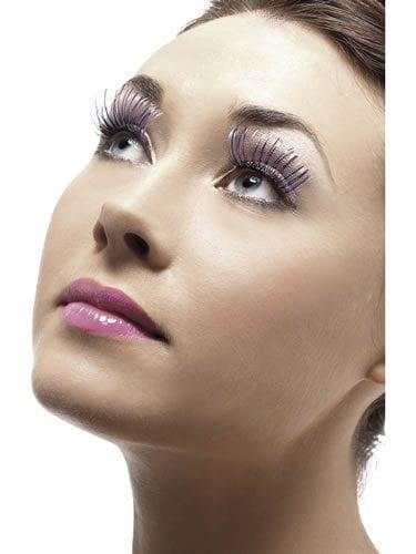 Purple Eyelashes (DISC)