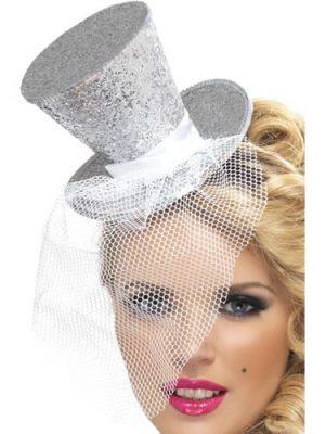 Fever Silver Mini Top Hat