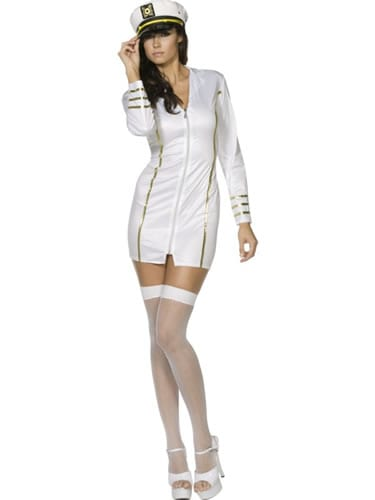 Fever Collection Miss Navy Ladies Fancy Dress Costume