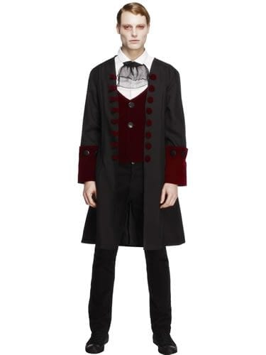 Fever Gothic Vamp Men's Halloween Fancy Dress Costume