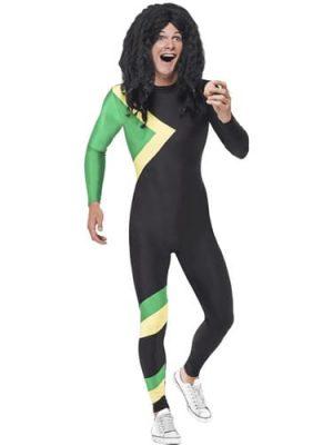 Jamaican Hero (Bobsleigh) Men's Fancy Dress Costume