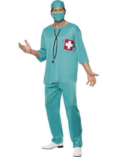 Surgeon Mens Fancy Dress Costume