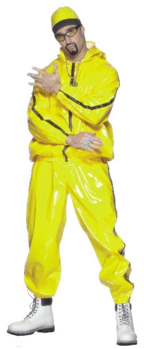 Rapper ( Ali G ) Mens Fancy Dress Costume