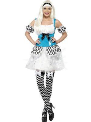 Alice Lite Up Ladies Fancy Dress Costume