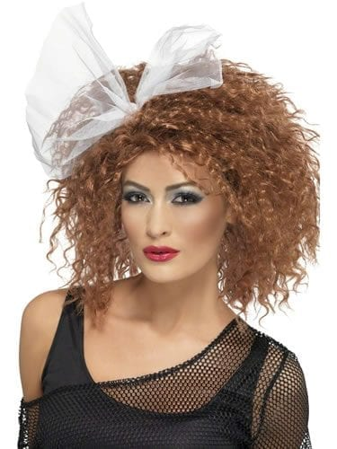 80's Wild Child Wig Brown