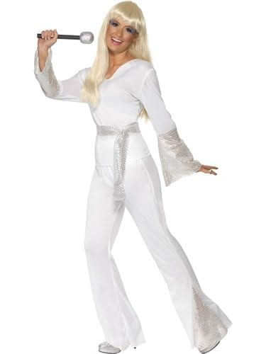 70's Disco Lady Ladies Fancy Dress Costume