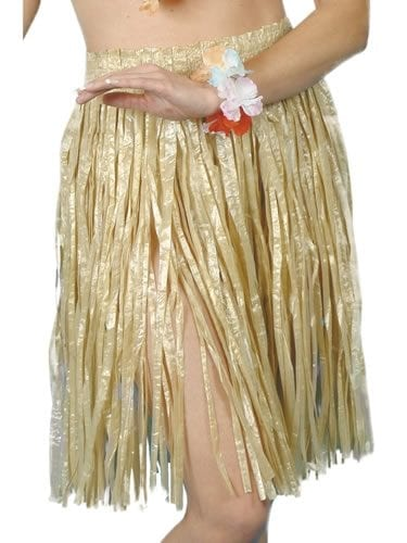 Hula Skirt Natural Short