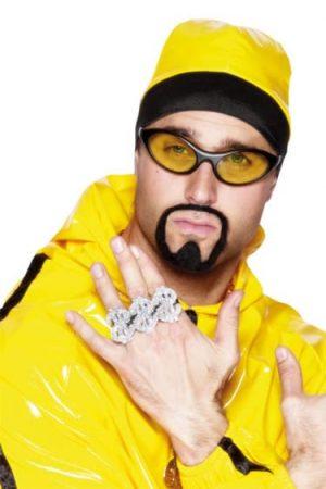 3-in-1 Dollar Sign Rapper Rings