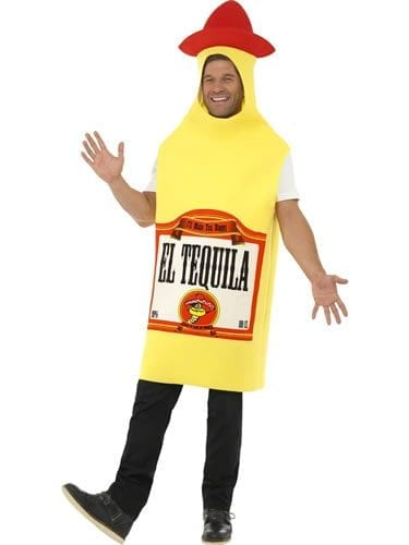 Tequila Bottle Novelty Fancy Dress Costume
