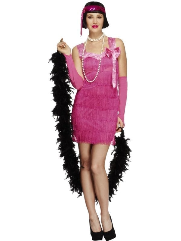 Fever Collection Flapper Hotty Ladies Fancy Dress Costume