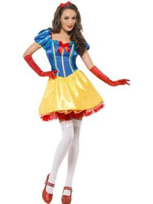 Fever Collection Princess Ebony Ladies Fancy Dress Costume