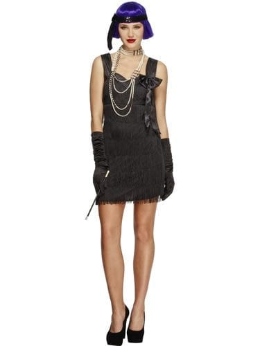 Fever Collection Flapper Foxy Ladies Fancy Dress Costume
