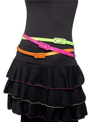 Neon Pack of 3 Belts