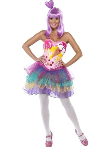 Candy Queen Ladies Fancy Dress Costume