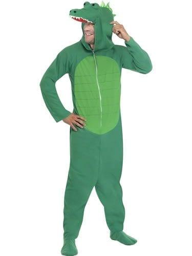Crocodile (ONESIE) Unisex Animal Fancy Dress Costume