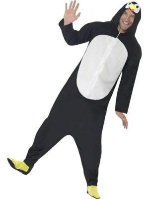 Penguin (ONESIE) Unisex Adult Fancy Dress Costume
