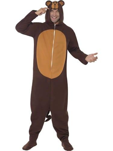 Monkey (ONESIE) Unisex Animal Fancy Dress Costume