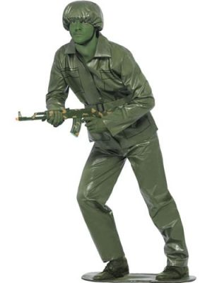 Toy Soldier Mens' Fancy Dress Costume