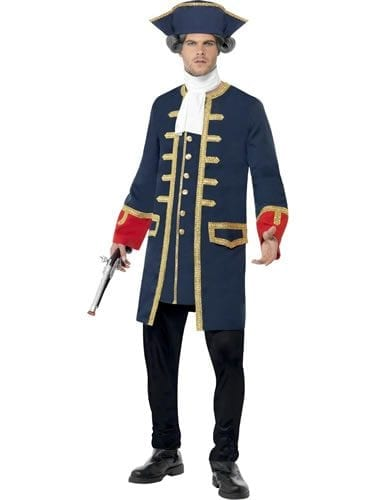 Pirate Commander Men's Fancy Dress Costume