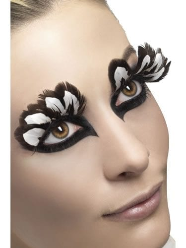 Fever Collection Brown Feather Eyelashes