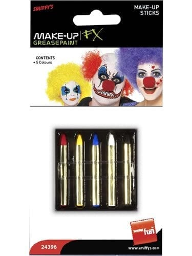 Smiffys FX Make-Up Stick Pack
