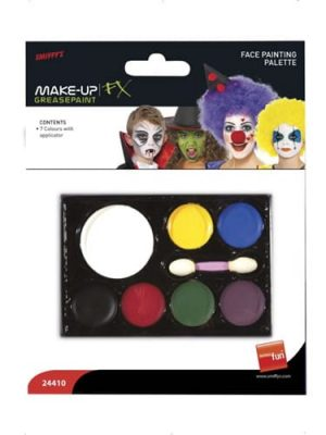 Smiffys FX Face Painting Palette