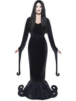 Gothic Manor Duchess of the Manor Ladies Halloween Fancy Dress Costume