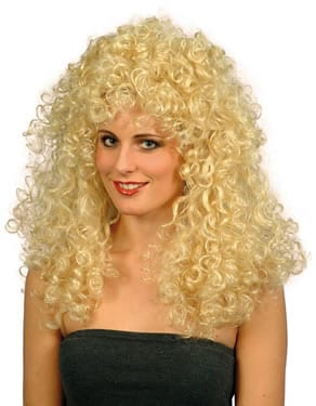 Boogie Babe (Dolly Parton) Wig Blonde